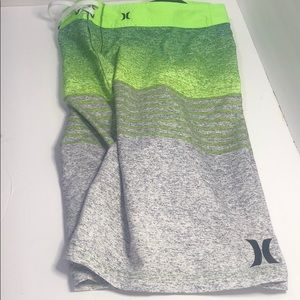 Hurley men's size 40 swimwear trunks board shorts